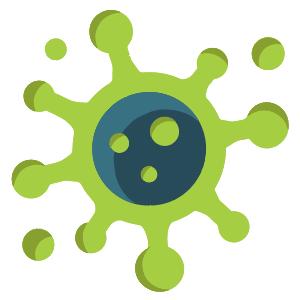 covid icon virus